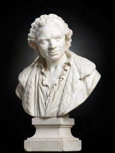 Buste de Charles De Wailly par Augustin Pajou (Musée des Beaux-arts de Lille)