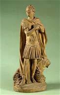 Modèle de la statue de Louis XV